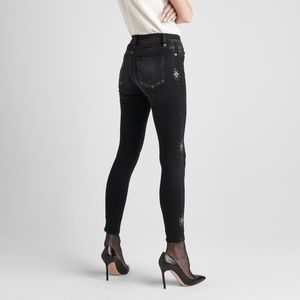HUDSON Nico Jeans Black Embellished 29